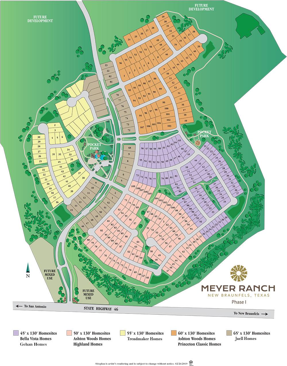 Meyer Ranch, New Braunfels Phase 1